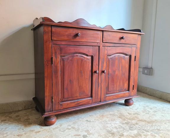 DISP. CONSEGNA, Mobile credenza in legno