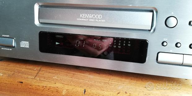 Kenwood dp-1001 Lettore CD HiFi Philips TDA1547