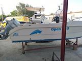 Barca open gs 550 4 tempi 40 cavalli no patente