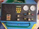 Stazione gas climatizzatore auto