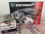 Nintendo 64 completa boxata con 5 giochi