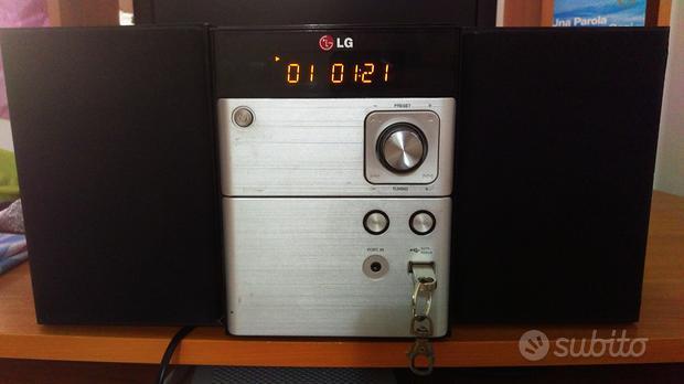 Sistema audio stereo usb cd lg