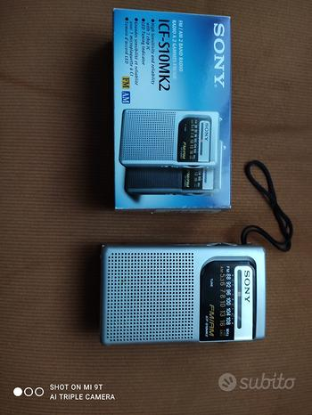 Radio portatile SONY