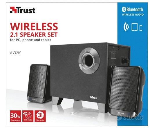 Casse Wireless 2.1 Bluetooth Senza fili TRUST