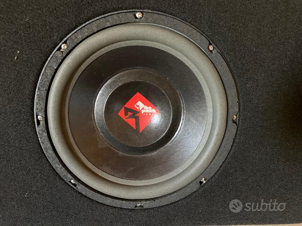 Coppia Subwoofer Rockford Fosgate serie Punch