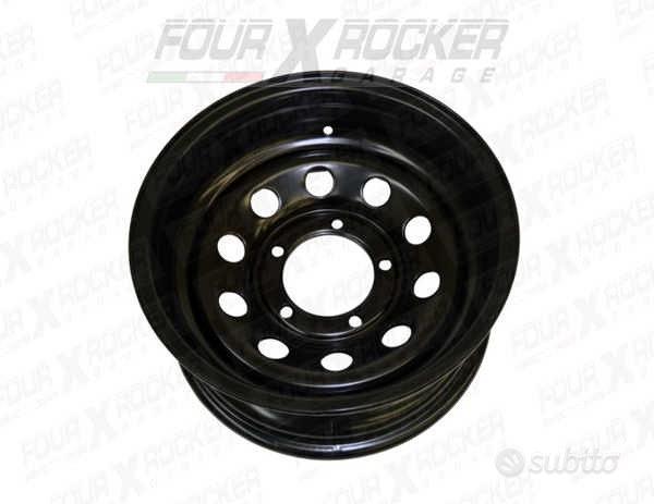 Cerchio tyrex modular nero 5 fori 6x15 et 0