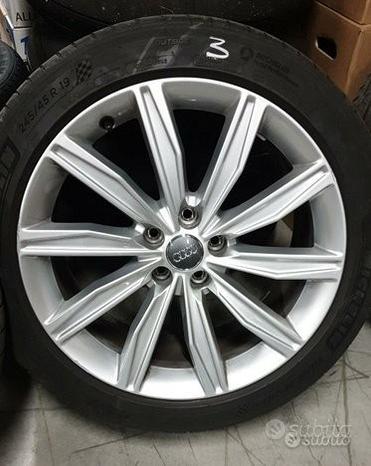 Cerchi originali Audi R19 + Michelin 245/45 R19