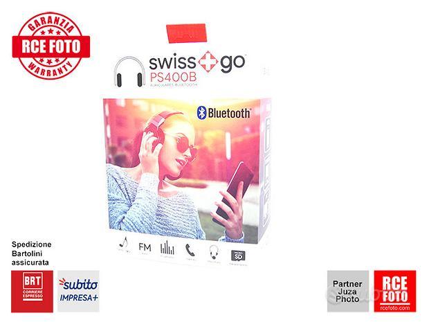 Swiss Go PS 400B Cuffie Bluetooth