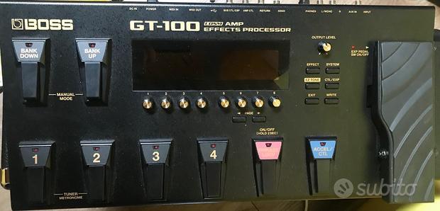 BOSS GT100 ver.2 pedale multi effetto