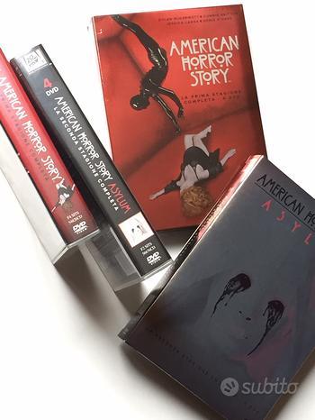 DVD horror ,AMERICAN Horror Story 1^e 2^ stagione