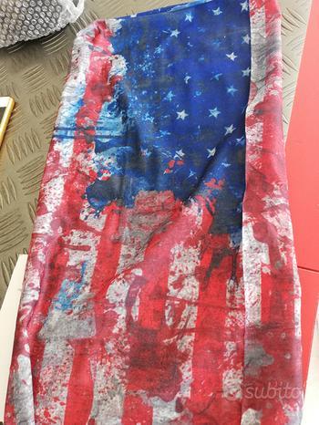 Bandana tubolare bandiera america vintage