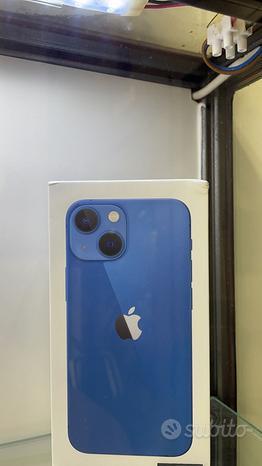 Apple Iphone 13 mini 128 gb nuovo blu Italia