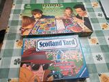 Ludus + Scotland Yard, gioco di società vintage