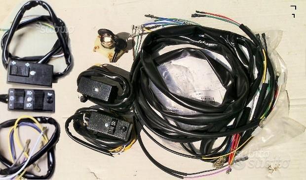 Impianto Elettrico e pulsanti Vespa PX 125 150 200