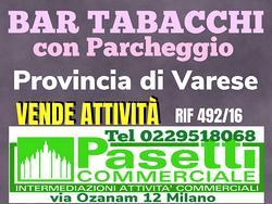 BAR TABACCHI su strada statale provincia di Varese