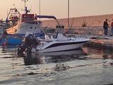 Barca motore carrello 40/60 21 piedi Cad Marine