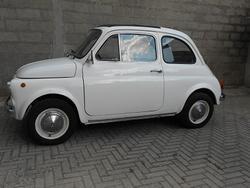 FIAT 500 F 8 Bulloni anno 1966