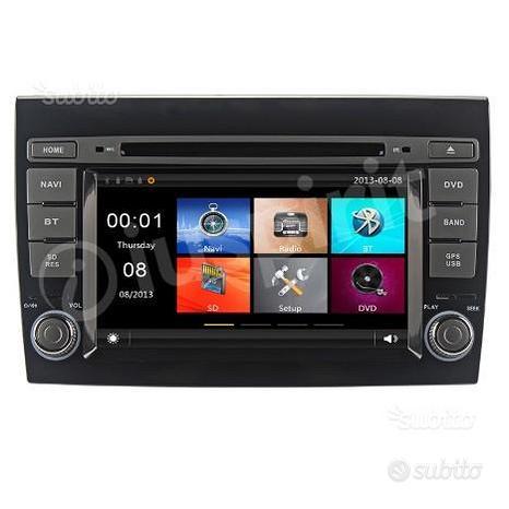 GPS DVD BT autoradio 2 DIN navigatore Fiat Bravo