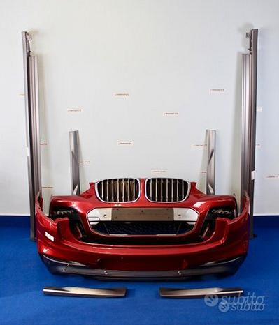 Kit Estetico Aereokit BMW Msport X X4 G02 (LE7)