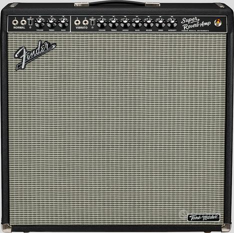 Fender Super Reverb Tone Master Black
