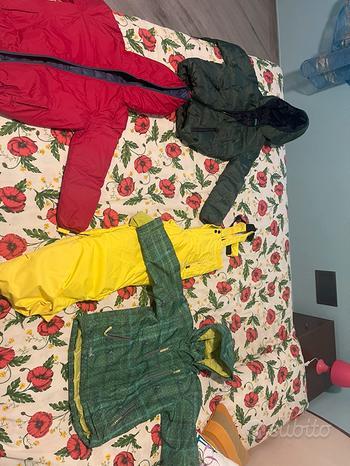 Tute giacche sci montagna bambino bambina