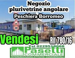 A Peschiera Borromeo Milano, NEGOZIO plurivetrine