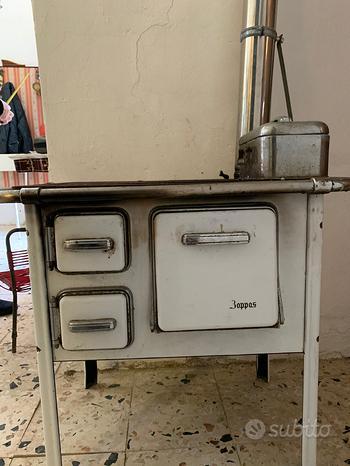 Stufa cucina a legna marca zoppas
