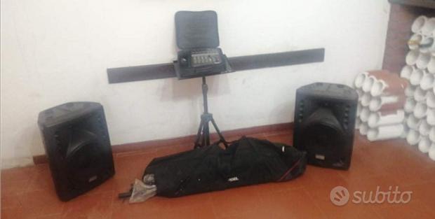 Impianto karaoke completo
