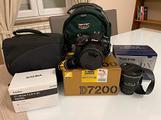 Nikon D7200 con corredo