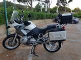 BMW R 1200 GS con tris borse originali