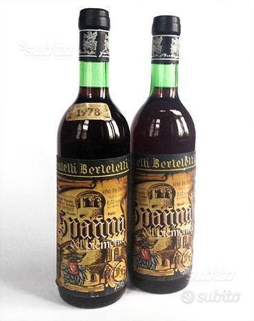 1978 Vino da collezione - Spanna - Berteletti