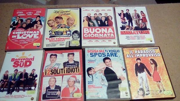 A Vicenza dvd vari generi anche a piccoli lotti