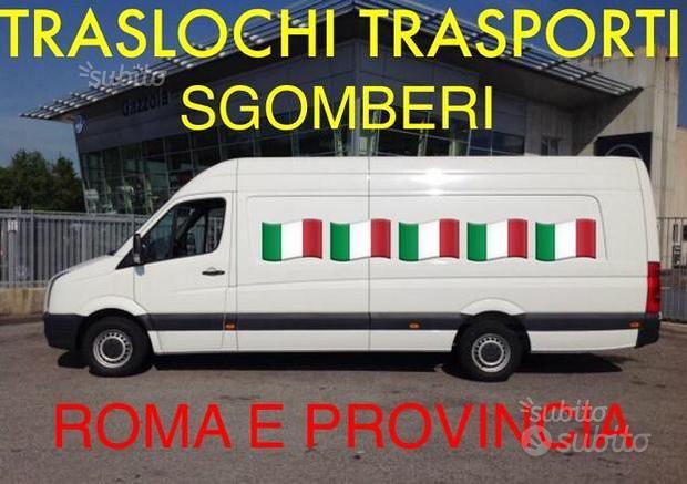 Traporti Sgomberi Traslochi e Noleggio furgone