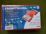 Cassetta kit pronto soccorso omologata auto e furg