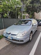 Citroen c5 station wagon azzurra