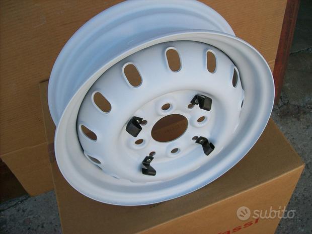 N. 5 Cerchi CMR 3,5x12 Fiat 600 850 TC abarth