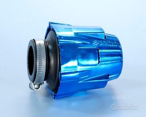Polini air box cromato blu diritto d.46