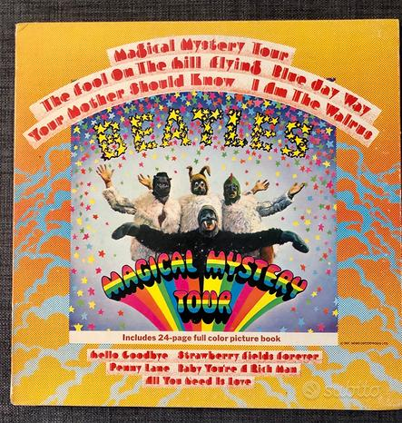 THE BEATLES - Magical Mystery Tour - LP 2a stampa
