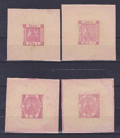 1898 ristampe private con matrici originali sasson