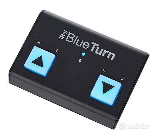 IK Multimedia iRig BlueTurn (scorrere spartiti)