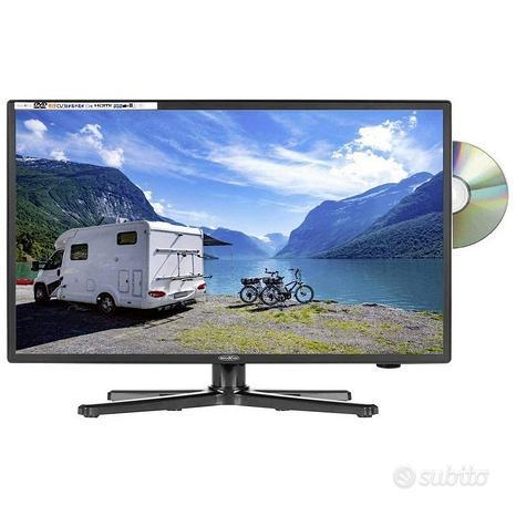 LCD TV, triple tuner, DVD Player 24' pollici