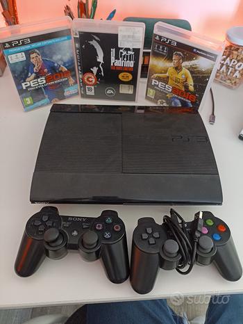 Ps3 + 2 controller + 3 giochi