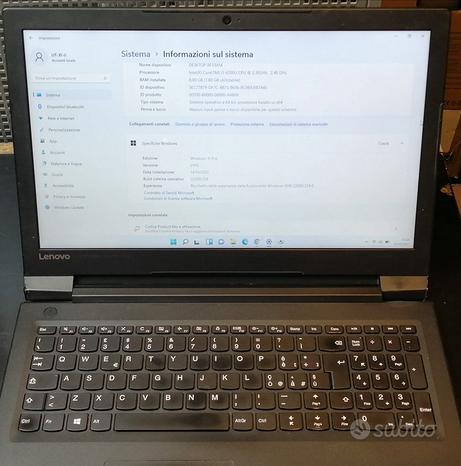 Notebook Lenovo i5-6200u