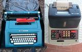 Olivetti studio 46 e divisumma 24 con tavolo
