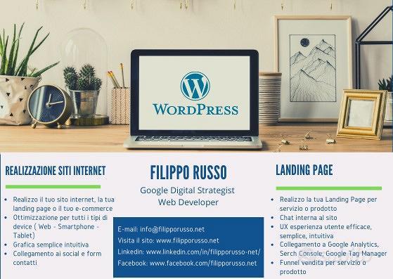 Realizzazione Siti Web - Landing Page