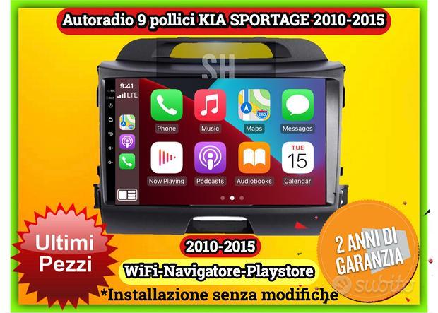 Autoradio KIA SPORTAGE   Octacore 4GB RAM 64GB ROM