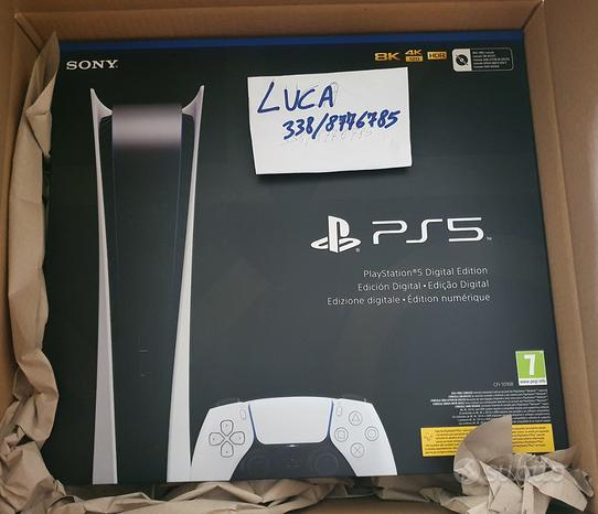 Console Sony PS5 Digital Edition