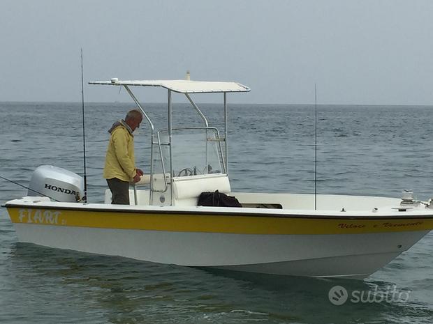 Barca da pesca Fiart Valiant open 21 + Honda 150cv