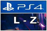 PS4 dalla L alla Z Titoli QUA SOTTO