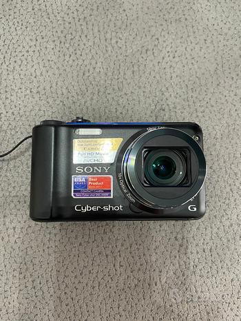 Fotocamera digitale Sony DSC-HX5 colore nero